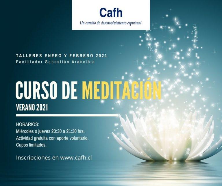 Curso Meditación Verano 2021